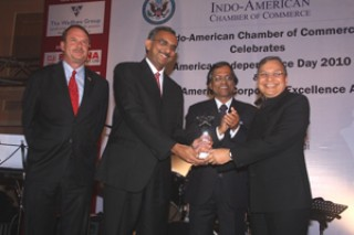 IACC American Independence Day and I-ACE Awards at Trident, Mumbai, July 2, 2010